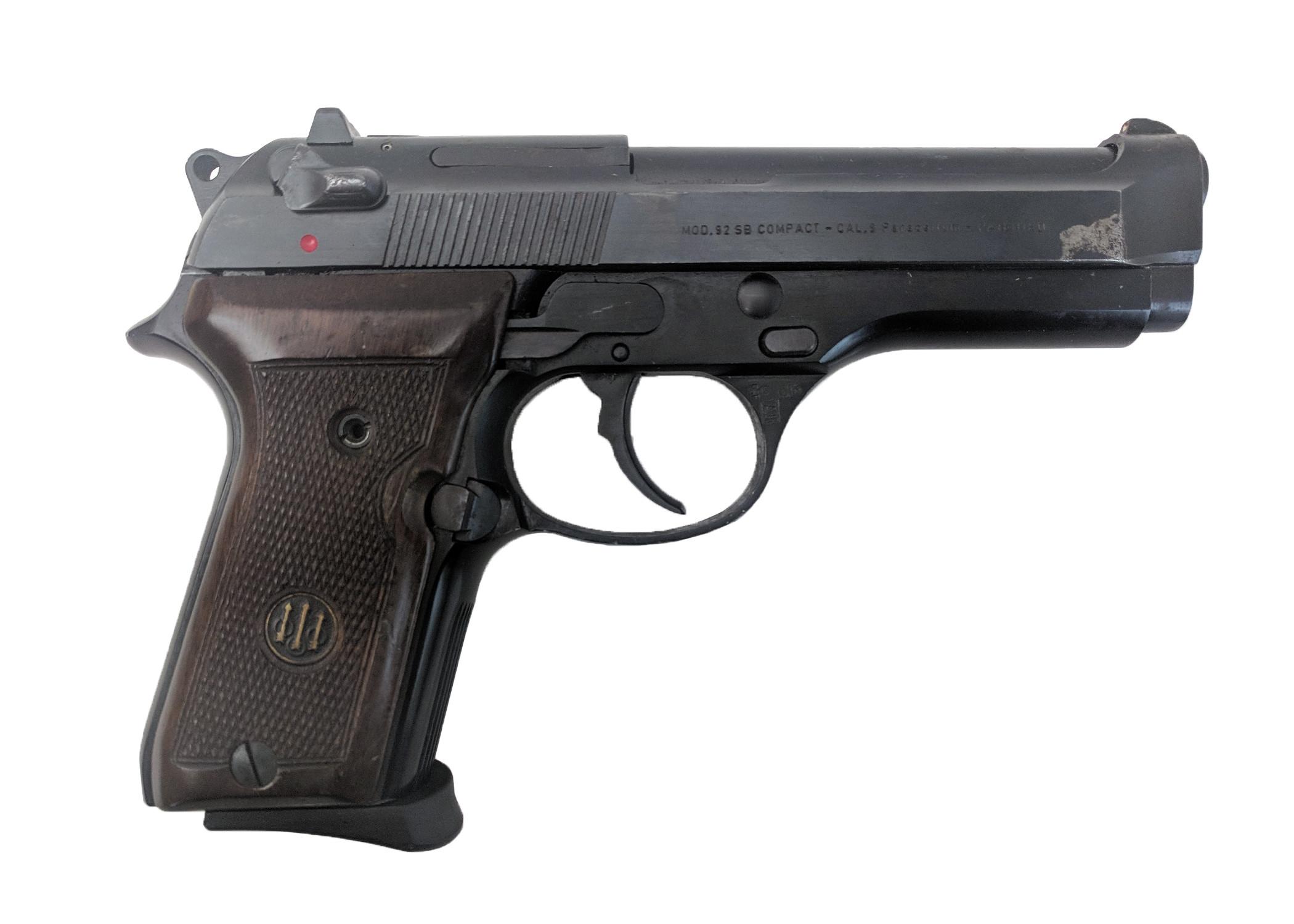 Beretta 92SB, 9mm