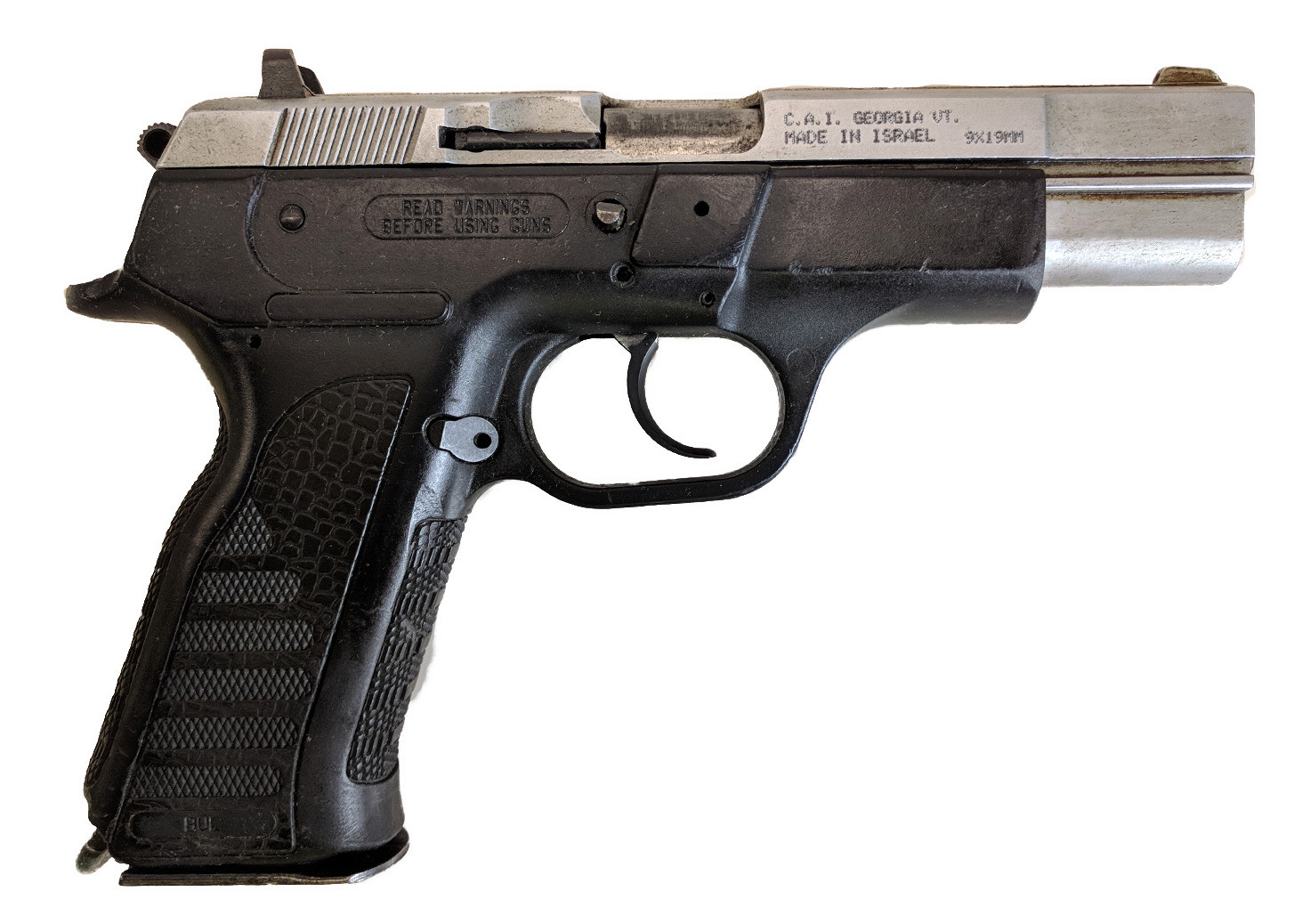 "BUL Cherokee, 9mm, 4.5"" Two-Tone, *Good, Incomplete*"