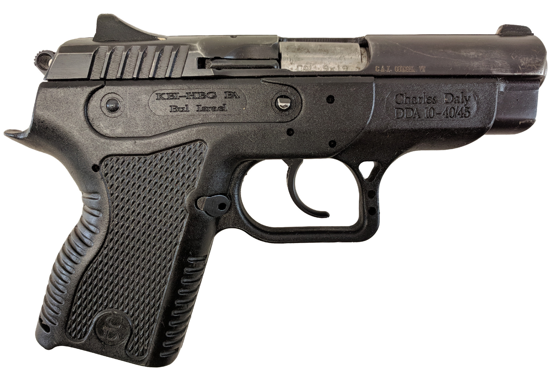 BUL Charles Daly DDA10-40/45, 9mm, *Good, No Magazine*