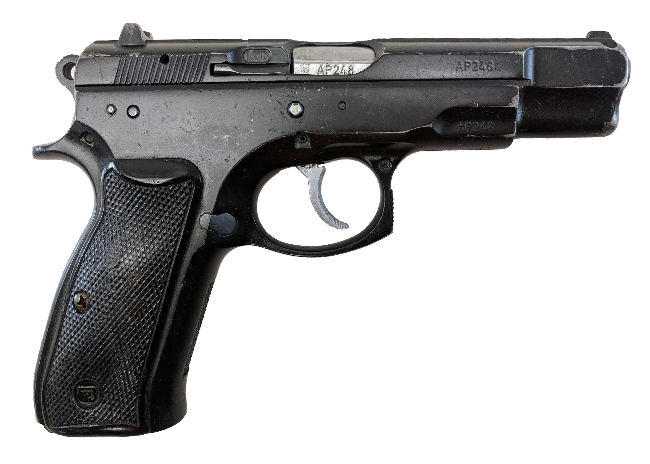 CZ 75BD Police, 9mm, *Good, No Magazine*