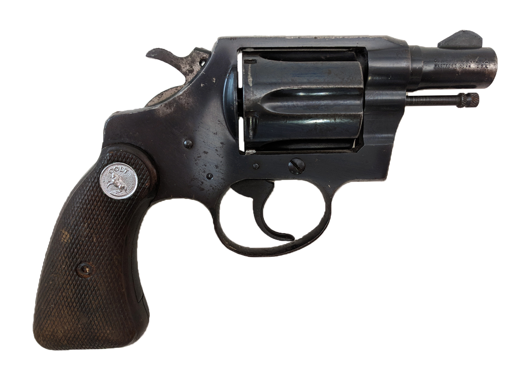 "Colt Detective Special, 2rd Series, 2"" Blue, 38 Special, *Fair*"