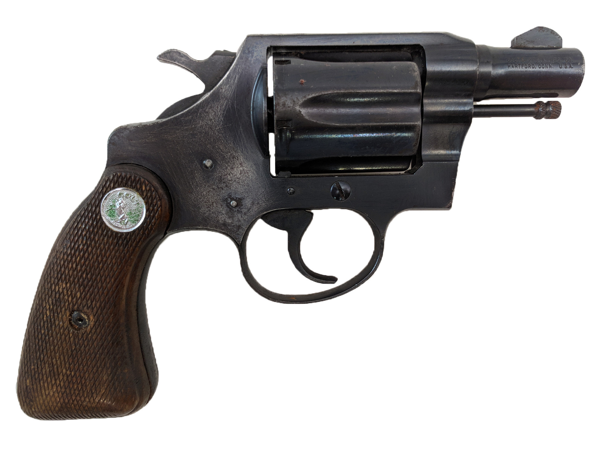 """Colt Detective Special, 2nd Series, 2"""" Blue, 38 Special, *Good*"""