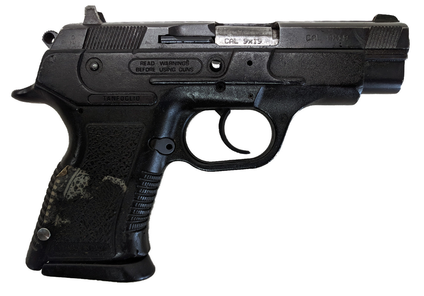 Tanfoglio Force Compact 919, 9mm, *Very Good, Incomplete*