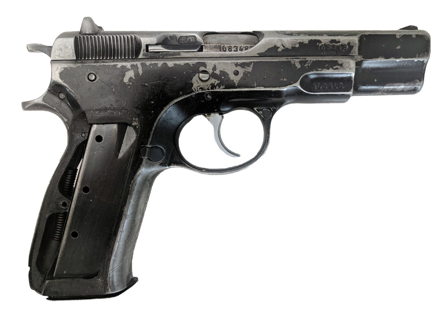CZ 75, 9mm, *Good, Incomplete, No Magazine*