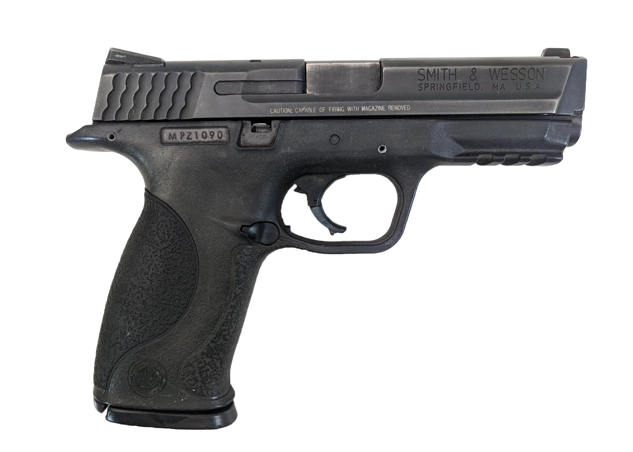 Smith & Wesson M&P 357,.357 SIG DA w/night sights