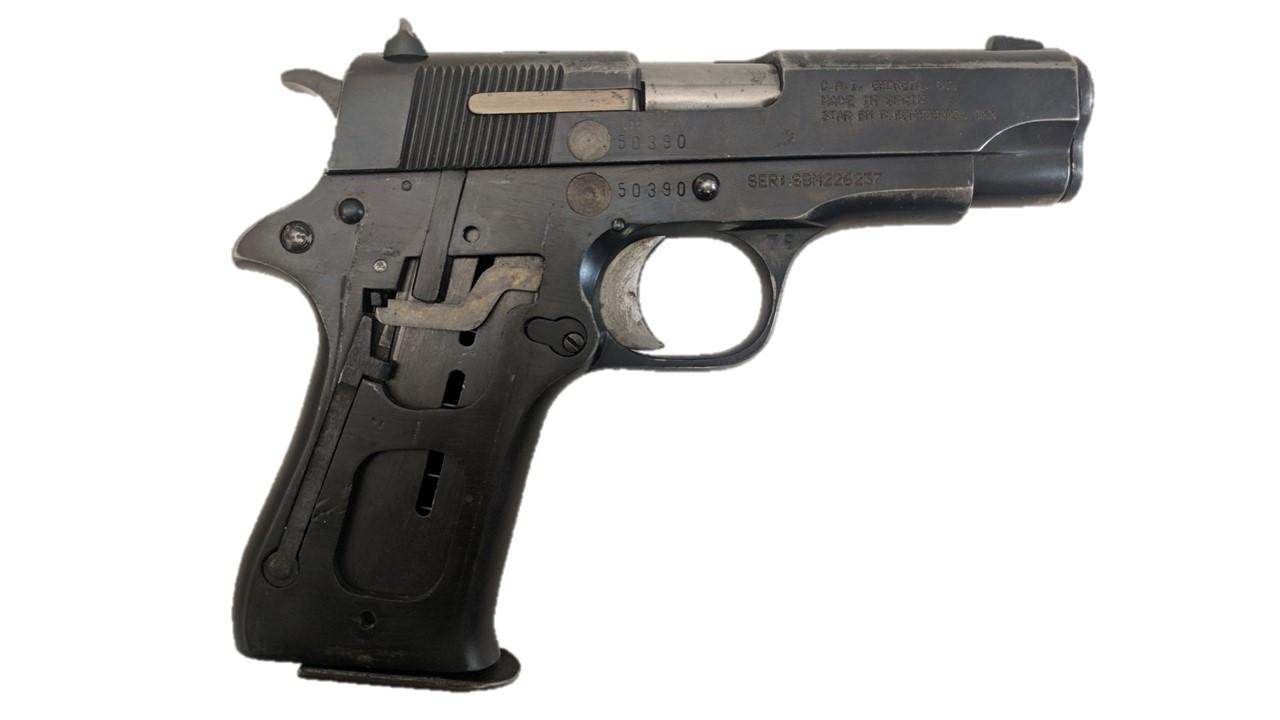 Star BM, 9mm, With Milled Slide
