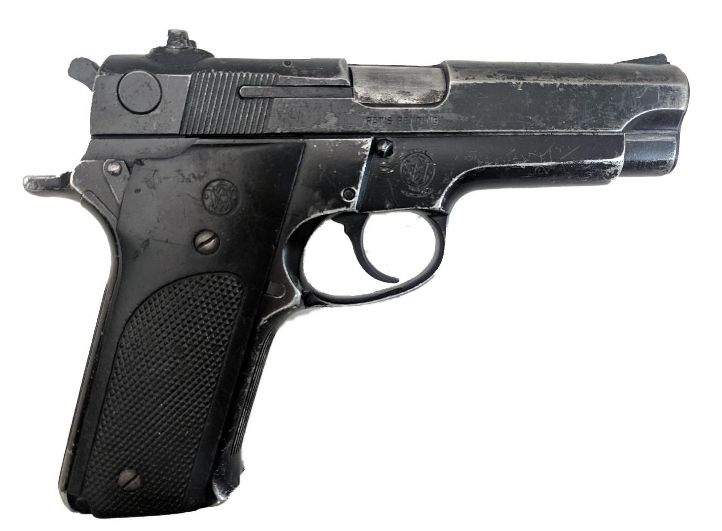 Smith & Wesson 59, 9mm, No Magazine, *Fair*
