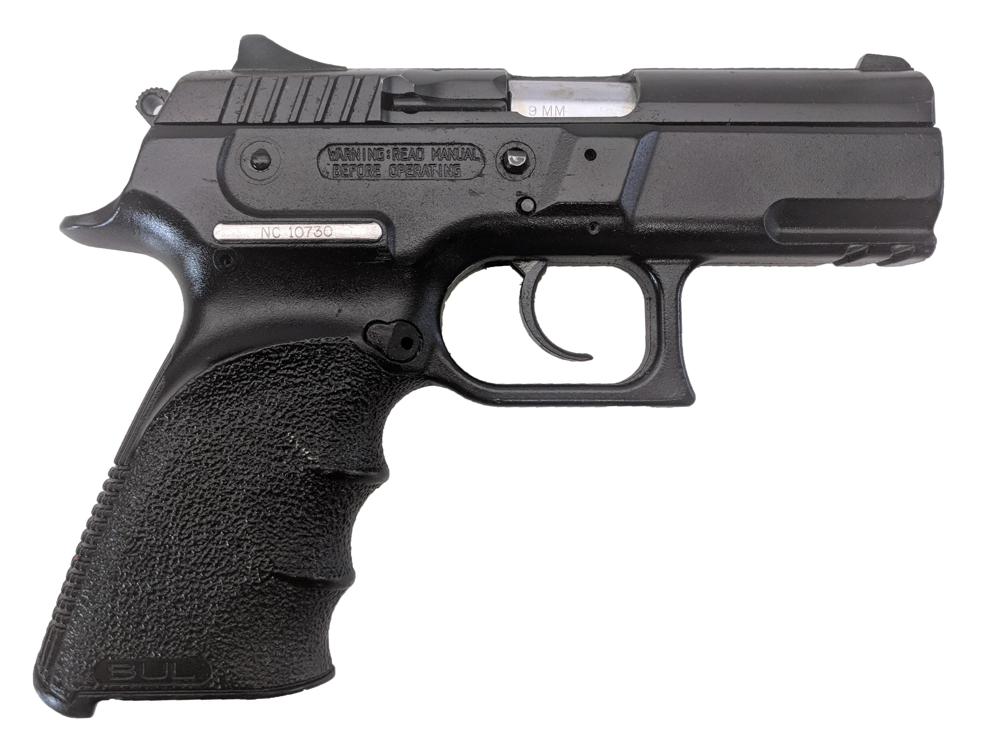 BUL G-Cherokee, 9mm, No Magazine, *Very Good*