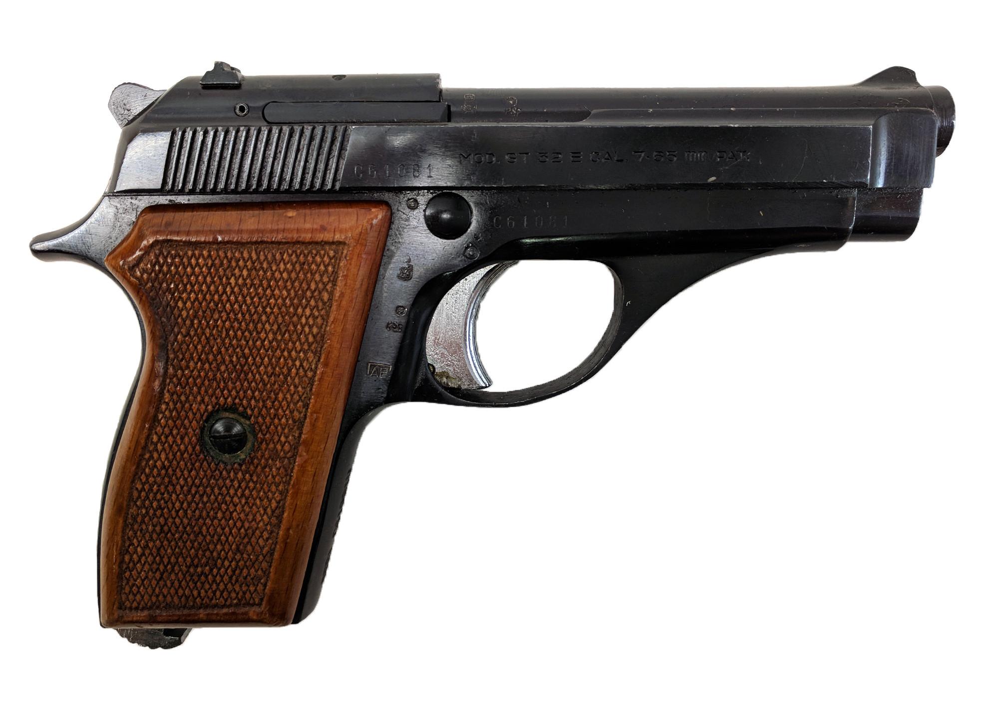 Tanfoglio GT32E, (.32 ACP) 7.65mm, No Magazine