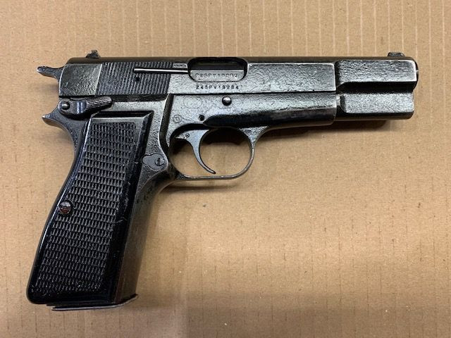 Browning Hi Power MK II, 9mm, *Good*