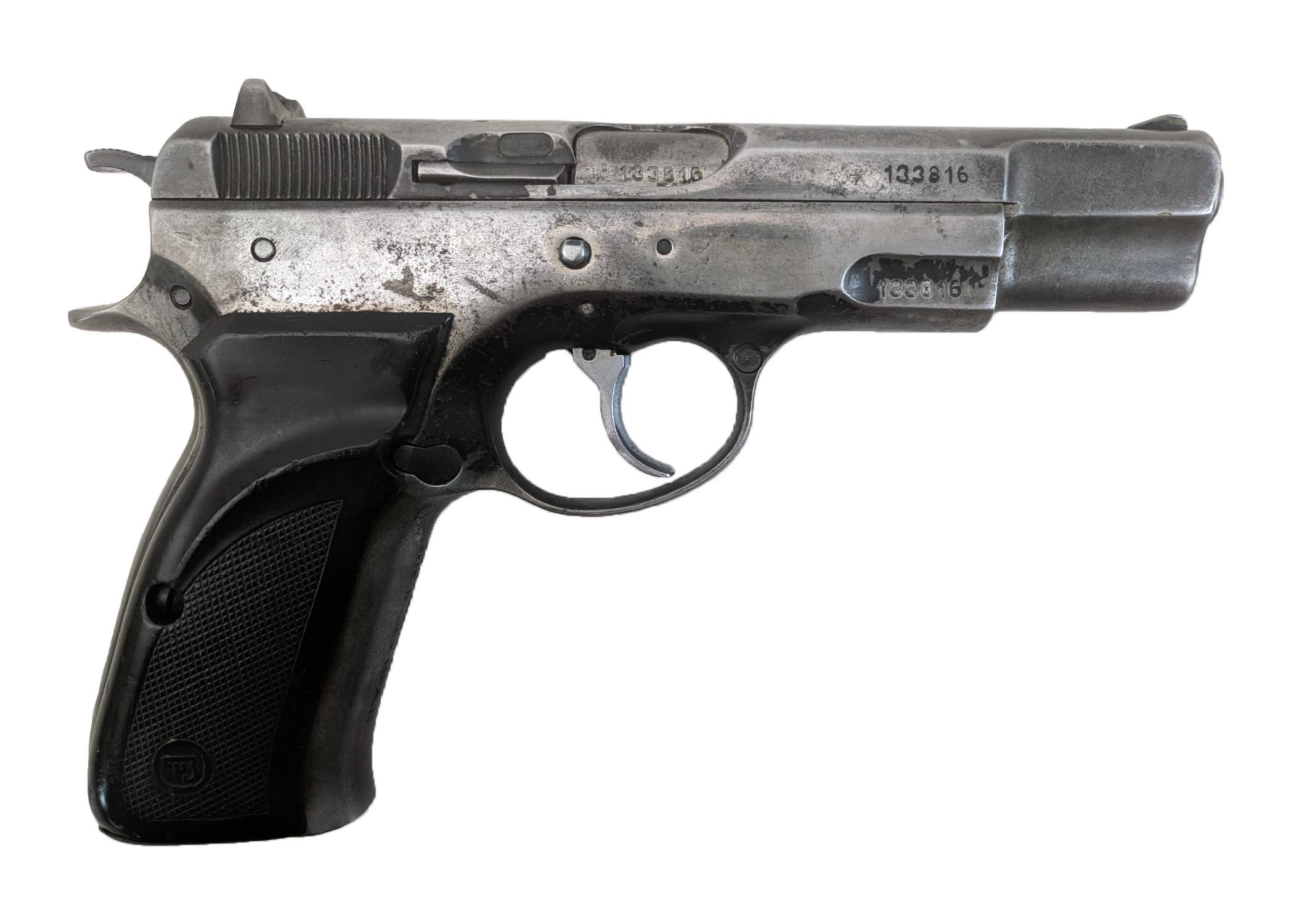 CZ75, 9mm, No Magazine, *Fair*