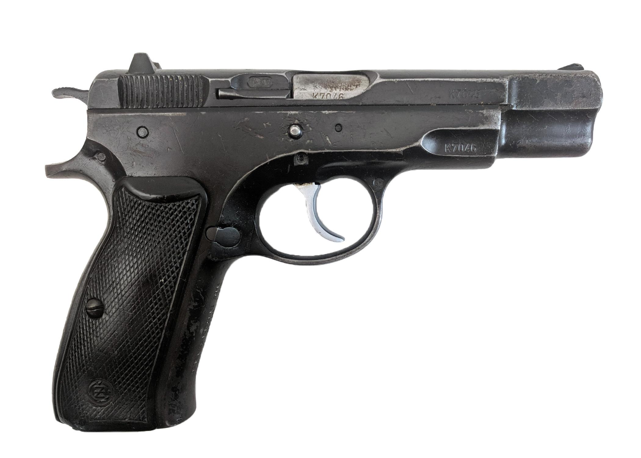 CZ 75, Pre-B, Late Type, 9mm, *Good, No Magazine*