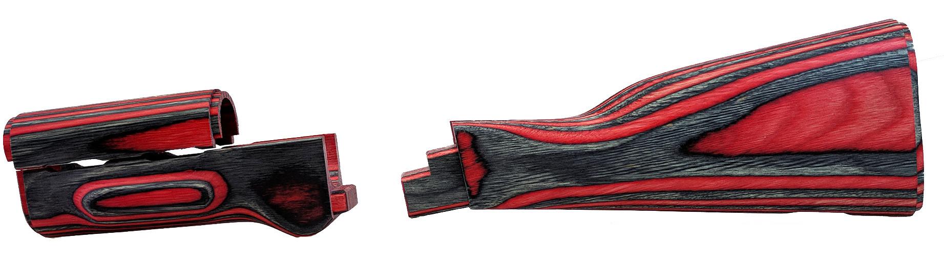 AK Laminated Furniture Set, Red, w/o Grip, *NEW*