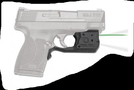Crimson Trace Laserguard Pro M&P45 Shield Green Laser/White Light Trigger Guard