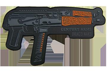 Draco NAK9 PVC Patch