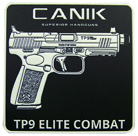 TP9 Elite Combat Glow In The Dark PVC Patch