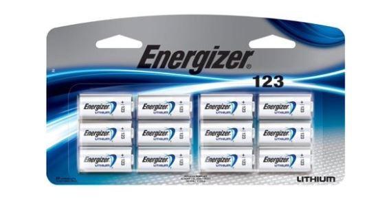 Energizer, 12 Pack, 3v, Lithium Photo Battery