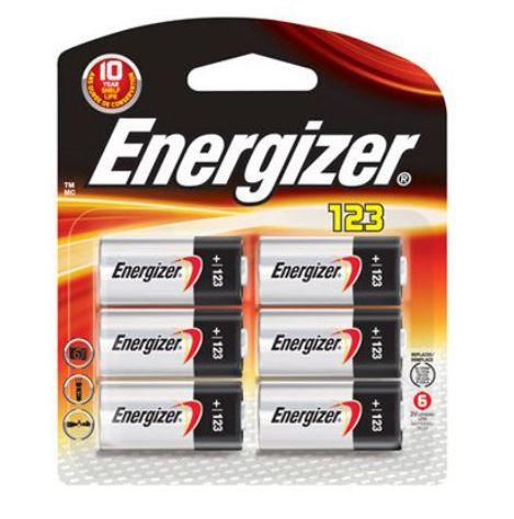 Energizer Lithium 3V Battery, 6 Pack