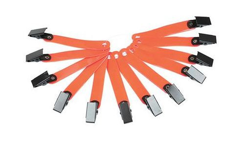 Allen Orange Reflective Ribbon W/Clip
