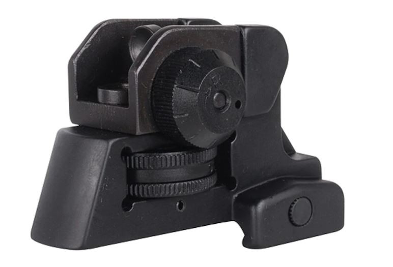 NcStar Detachable Rear Sight A2-Style AR-15