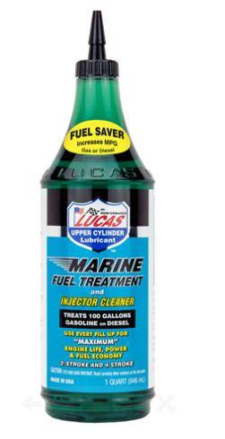 Lucas Marine Fuel Treatment, 1 QT Bottle
