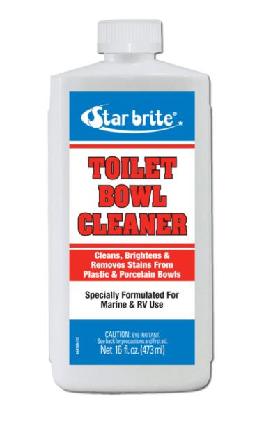 Star Brite Toilet Bowl Cleaner/Lubricant, 16 OZ Bottle