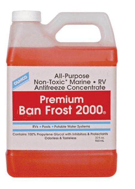 CAMCO Premium Ban Frost 2000, Case of (6) 1 QT Bottles