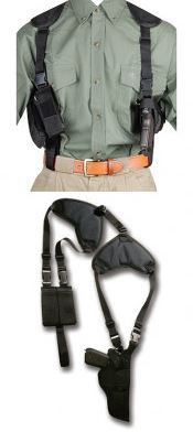 "Bulldog Deluxe Shoulder Holster for Revolvers 2"" - 2.5"", Ambidextrous"