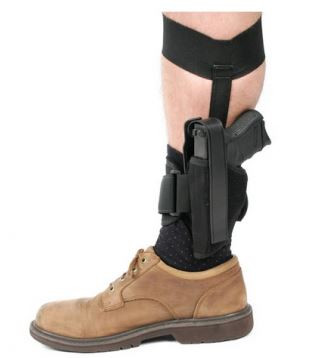 "Blackhawk Ankle Holster, 2"" Revolvers, Right Hand"