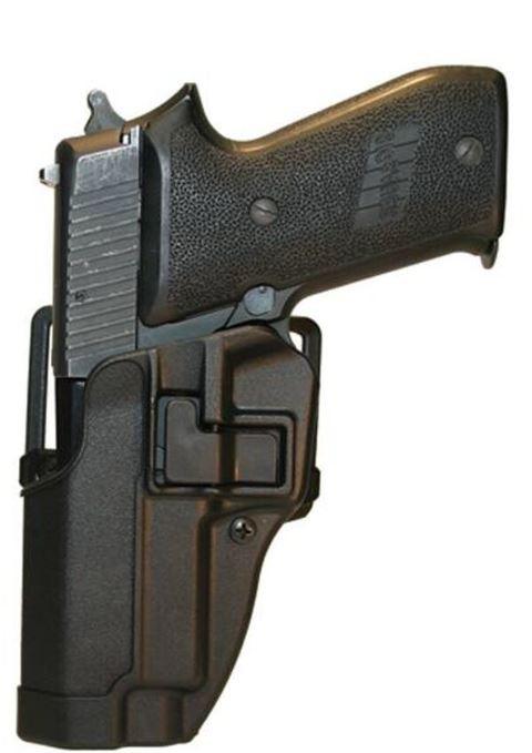 Blackhawk SERPA CQC Belt/Paddle Holster For Sig Pro 2022, Black, Left Hand
