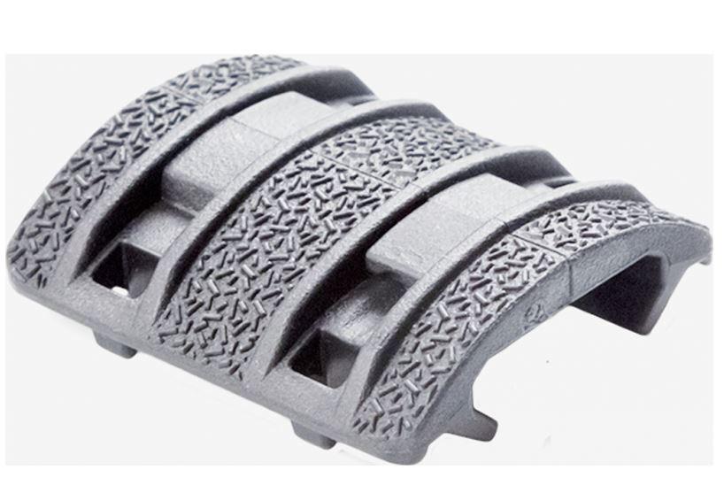 Magpul Enhanced XTM Rail Panels For Picatinny Rails, Gray