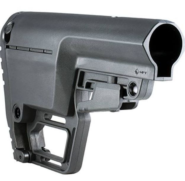 Mission First Tactical Battlelink Utility Stock For AR15, Commercial, Black