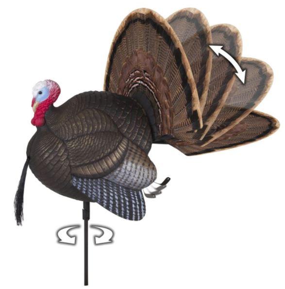 Mad Spin-n Strut Turkey Decoy