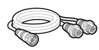 Humminbird 14-MSILR-Y Y-Cable