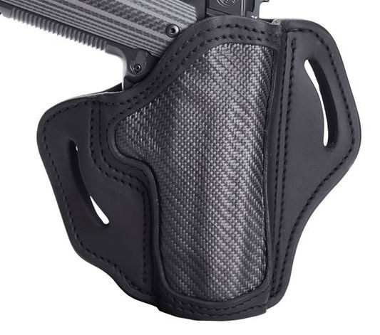"1791 Gunleather Project Stealth Multi-Fit OWB Belt Holster for 4""/5"" Full Size 1911"