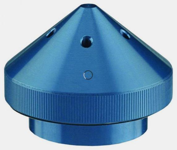 T-H Marine G-Force Eliminator Blue Trolling Motor Propeller Nut for Motorguide Motors