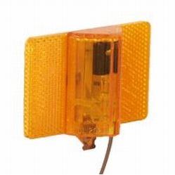 "Dry Launch Trailer Lights Clearance Sidemarker Lights Stud Mount ¼"" Amber"