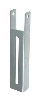 "C.E. Smith 10601G - 12-5/8"" L Galvanized Adjustable Lanced Vertical Bunk Bracket"