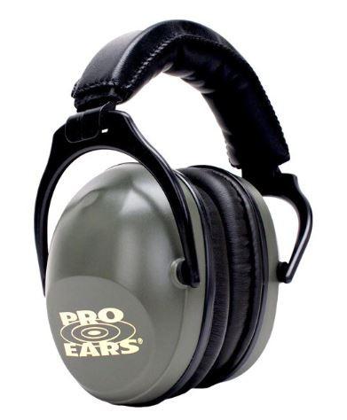 Pro Ears Ultra Sleek Ear Muffs NRR 26 Green