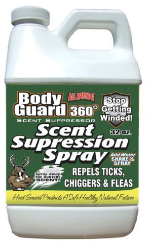 Herd Guard BODYGUARD 360 Scent Suppression Spray, 1/2 GAL