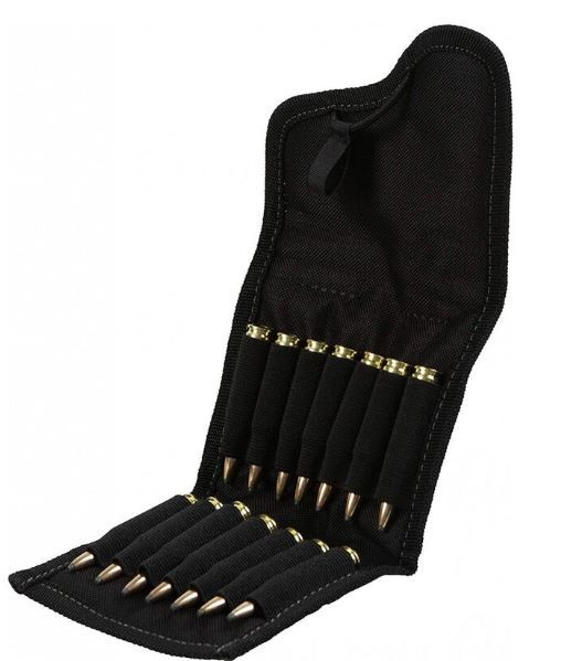 Allen Ammo Pouch, Holds 14 Rilfe Rounds, Black