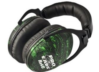 Pro Ears Revo 26 Passive Hearing Protection Earmuffs, Zombie Edition
