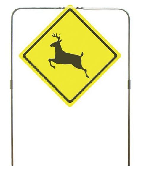 Do All Traps Deer Crossing Sign Hanging Target