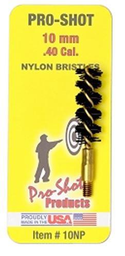 Pro-Shot Nylon Pistol Brush, .40 Cal