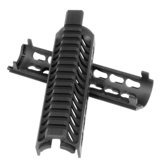 "Mission First Tactical Tekko AR-15 Drop In Handguard, 7"" Keymod, Black"