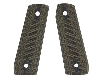 Ruger 22/45-Green/Black, Checkered-G-10