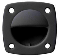Whitecap Nylon Flush Pull - Small - Black