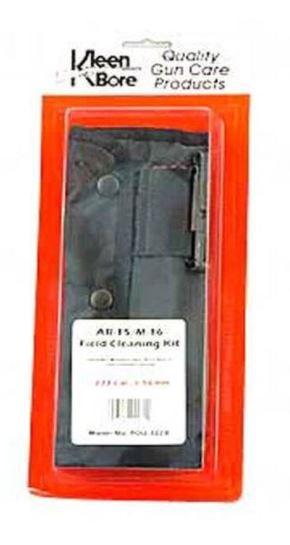 KleenBore AR-15 .223/5.56 Field Pack Cleaning Kit Black
