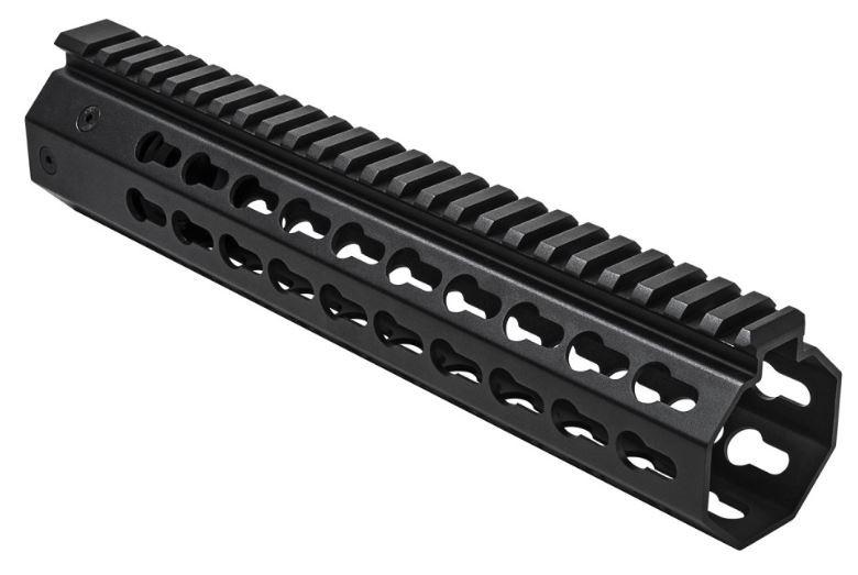"NcSTAR S&W M&P15-22 AR-15 Keymod Rifle Handguard 10"", Black"