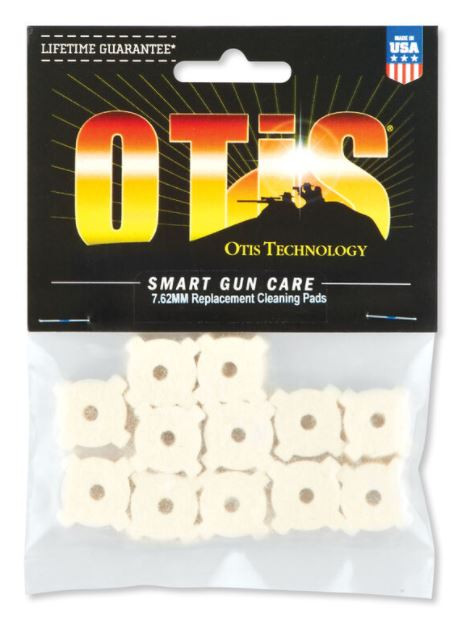 Otis 7.62 Star Chamber Cleaning Pads 12 Pack